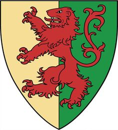 The arms of William Marshal (1146 to 1219) Known throughout Europe as 'the Marshal'. Regent of England. Reissued Magna Carta on behalf of the infant Henry III under his own initiative, and under his own seal, in 1206 and 1207, to end civil war after the death of King John. The most underrated man in history? http://www.medievalwarfare.info/marshal.htm