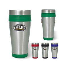 Logo Dome Big Gulp Stainless Tumbler Promotional Giveaways, Ny Usa, Travel Mug, Mugs, Tableware, Tumbler, Dinnerware, Drinkware, Tumblers