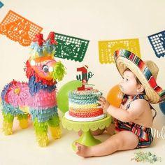 SombreroChildren's sombrero fiesta party boy girlprop smash cake outfitmexican me Mexican Birthday Parties, Mexican Fiesta Party, Fiesta Theme Party, Birthday Party Themes, Birthday Ideas, Birthday Pictures, Baby Boy 1st Birthday, 1st Boy Birthday, Boss Birthday