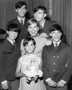 Today, 4-24 in 1969 - The singing family, The Cowsills, received a gold record…