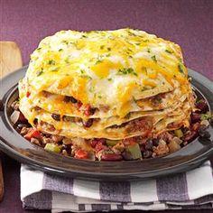 Slow Cooker Enchiladas Recipe from Taste of Home