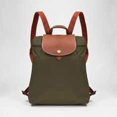 Longchamp Backpack - Le Pliage - Slate....Next on my list!!!!