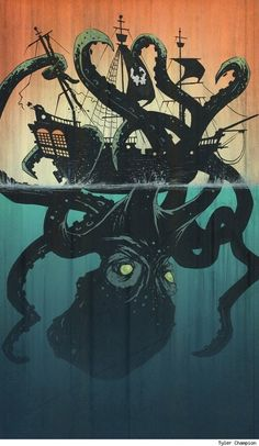 Awe snap this is one of the coolest. Octopus/ship drawings ive seen yet