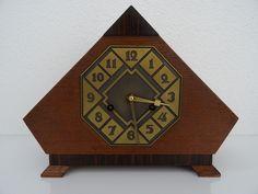 Junghans Antique Vintage German Mantel Art Deco WW2 Clock Kienzle Mauthe Era   eBay
