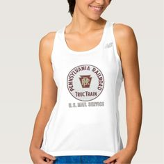 Pennsylvania Railroad TrucTrain Service Workout Tank Top Tank Tops