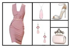 """""""Outfit # 3207"""" by miriam83 ❤ liked on Polyvore featuring Allurez, René Caovilla, Alexander McQueen and NSR Nina Runsdorf"""