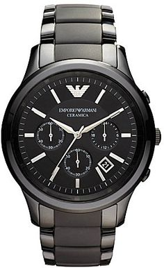 Emporio Armani Ceramic chrono bracelet watch