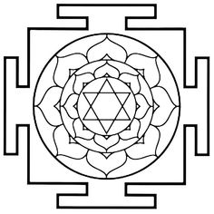 Yantras - 22 Coloring Pages (pdfs) for Meditative Creativity 7 Chakras, Tantra, Coloring Books, Coloring Pages, Labrynth, Sri Yantra, A4 Paper, Crystal Grid, Flower Of Life
