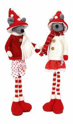 Jonka et Ule, les souris aux jambes extensibles