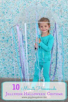 10 minute kids jellyfish costume