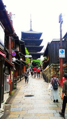 京都、音羽山清水寺 World Street, Kyoto, Times Square, Japan, Travel, Viajes, Destinations, Traveling, Trips