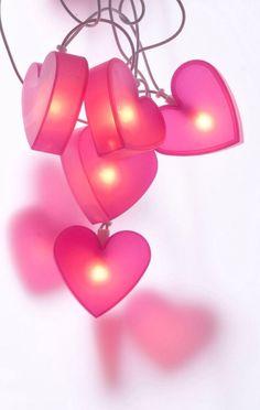 Valentine Lights   via Inspired Designs