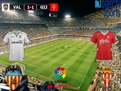 Liga Santander 2016/17 27º Fecha: Valencia 1-1 Sporting Gijon