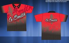 Sublimated Pit Crew Shirts - Die Sub Team Shrits - for G-Smith Motorsports