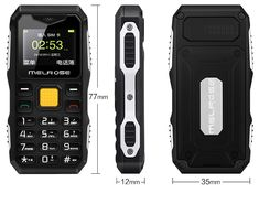 Ship Within 24 Hours Melrose Long Standby Big Voice Flashlight FM Mini Small Size Pocket Rugged Mobile Cell Phone Yellow Accessories, Samsung Accessories, Mobile Accessories, Cell Phone Accessories, Bluetooth, Phone Gadgets, Galaxy, Telephone, Flashlight