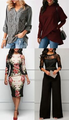 If you are a girl who may be style conscious, you no doubt know that you have a individual style that you'd need to keep up with. Allow me to share a number of ideas. Sexy Outfits, Cool Outfits, Fashion Outfits, Fashion Ideas, Fashion Trends, Fasion, Fashion Over 50, Fashion Top, Womens Fashion