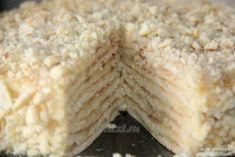 """Торт """"Минутка"""" без выпечки Ингредиенты: Для коржей: 3 ст. муки; 1 банка сгущенки; 1 яйцо; 1 ч. л. соды (погасить уксусом). Для крема: 750 г молока; 200 г сливочного масла; 1.5 ст. сахара; 2 яйца; 3-4 ст. л. муки 1 пакетик ванилина Приготовление: Делаем тесто для торта, смешивая все ингредиенты (мука, сгущенное молоко, яйцо, сода). Тесто делим на 8 кусков. Раскатываем один кусочек диаметром больше сковороды и выкладываем на разогретую сковородку. Через минуту переворачиваем (коржи жарятся…"""