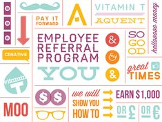 Employee referral program jacqueline driscoll art director employee referral program jacqueline driscoll art director designer employee referral program pinterest pronofoot35fo Images