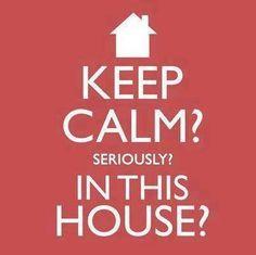 keep calm?..