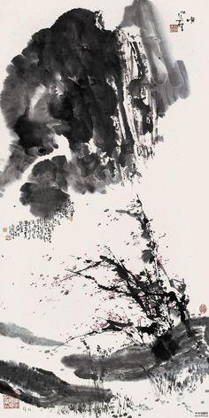 Song Yugui(宋 雨桂 Chinese, b.1940)  秋风图