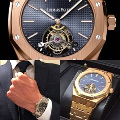 The roots of AP date back to 1875. Audemars Piguet was founded by Jules-Louis Audemars and Edward-Auguste Piguet in the village of Le Brassus in the Vallée de Joux Switzerland. The 23-year-old Jules-Louis Audemars asked his childhood friend Edward-Auguste Piguet then only 21 to establish and produce watch movements.The two friends soon had great success with their customers. They appeared as the best at what they did. From the beginning Jules-Louis and Edward-Auguste\'s watches were prized by...