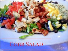 Life. Love. Lauren.: Cobb Salad