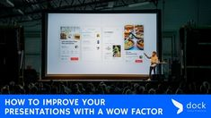 How to Improve Your Presentations with a WOW Factor http://blog.mydock365.com/how-to-improve-your-presentations-designs?utm_campaign=crowdfire&utm_content=crowdfire&utm_medium=social&utm_source=pinterest