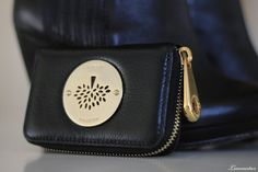Mulberry purse black leather