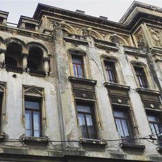 Wandering around Bucharest. #socialmodernism #architecture #romania