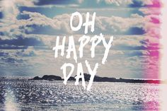 Oh Happy Day Fine Art Print by Vintage Skies at FulcrumGallery.com