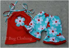 Custom Boutique Clothing Plane Jane Summer by LilBugsClothing