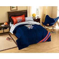 MLB Applique Bedding Comforter Set with Sheets, Yankees