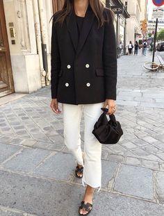 Le parfait look noir et blanc #105