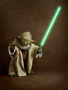 Renaissance Yoda. Series of portraits features iconic Star Wars characters dressed in beautiful clothing from the Renaissance era.   Renaissance Star Wars by French photographer Sacha Goldberger.