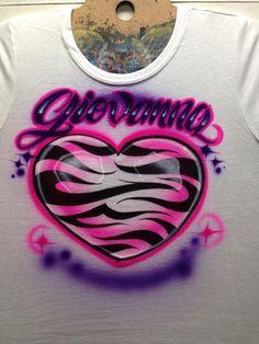 1e8575304 66 Best airbrush names images   Airbrush shirts, T shirts, Airbrush art
