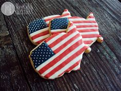 American Flag Sugar Cookies, USA, red white and blue, patriotic, of July… Fourth Of July Cakes, 4th Of July Desserts, Fourth Of July Food, July 4th, Blue Cookies, Summer Cookies, Royal Icing Cookies, Best Sugar Cookies, Sugar Cookies Recipe