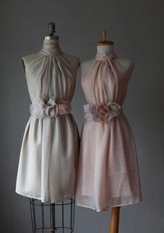 Mismatched Brautjungfer Kleider - find ich toll! Auch in jeder Farbe zu haben!
