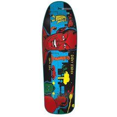 Santa Cruz Skateboards Deck Corey O'Brien 9.75 Mutant City Blue Stain Reissue | snapchat @ http://ift.tt/2izonFx