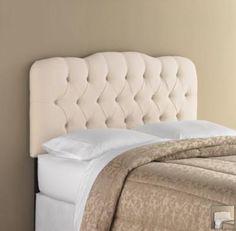 DIY upholstered headboard: project complete DIY home furniture
