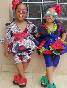 Baby African Clothes, African Dresses For Kids, African Wear Dresses, African Children, Latest African Fashion Dresses, African Print Fashion, African Attire, Ankara Fashion, African Outfits
