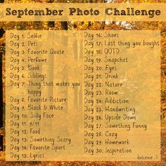 Heeello maaah fantabulous readers! This month, I decided to try something new and participate in Instagram's monthly photo challenges. After looking around on Instagram for a good photo challenge t...
