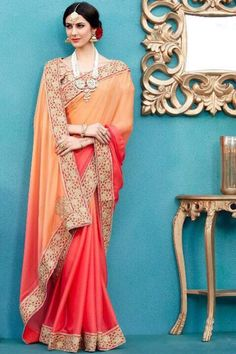 Art Silk Wedding Wear Saree With Hand Work Lace Border