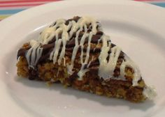 Chocolate Drizzle Flapjack