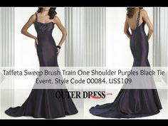 The Taffeta Sweep Brush Train One Shoulder Purples Black Tie Event is perfect for a great elegant and formal night and also for an important venue. You can use is as well for different occasions such as cocktail, party, ball, among others. Check the dress here:http://www.outerdress.com/taffeta-sweep-brush-train-one-shoulder-purples-black-tie-event-pd-00084-0.html?k=00084 #outerdress #blacktieevent #dresses
