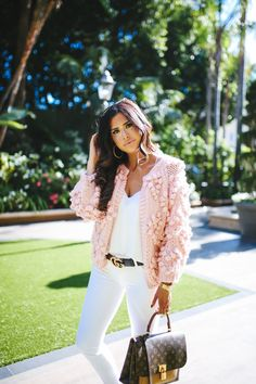 The Cutest Pink Pom Cardigan, Ever! – The Sweetest Thing