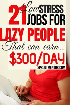 Here are some of the best online jobs for lazy people looking for ways to make money online during their spare time. These work from home jobs are ideal for teens, moms and any other person who wants to make extra cash on the side.  #onlinejobs #workfromhomejobs #makemoneyonline #lazypeoplejobs #money #finance #stayathomejobs #jobs