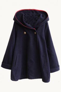 art-is-art-is-art: hooded plain tweed long cape - #Art #LoveArt http://wp.me/p6qjkV-724