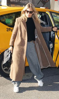 Sienna Miller Just Wore the Comfiest Outfit — and It Looks Expensive Too via @WhoWhatWearUK