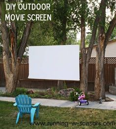 Create Your Own Outdoor Theater