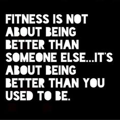 @go_healthy_motivation - Be better than you USED to be. Not better than someone else! #healthy#healthylifestyle#fit#fitness#exercise#workout#motivation#fitspiration#befitstayfitlivewell#healthyeating#prohealth#igfitness#weightlossjourney#loseweight#fitstagram#healthspo#ighealth#challenge#strength#pushyourself#nodaysoff#determination#fitnessfreak#fitnessaddict#inspiration#fitspo#beastmode#youcandoit#progress